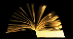 Book with moving pages royalty free stock image