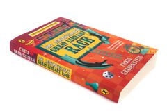 The book, Mr Lemoncello`s Great Library Race, by Chris Grabenstein