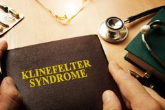 Klinefelter syndrome. Royalty Free Stock Images