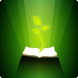Book of Nature Royalty Free Stock Image