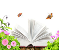 Book of nature Stock Images