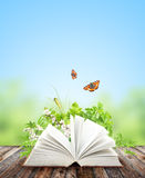 Book of nature Stock Photos