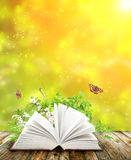 Book of nature Royalty Free Stock Photography