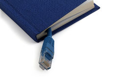 Book network Royalty Free Stock Photo