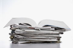 Book and newspaper Royalty Free Stock Photography