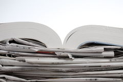 Book and newspaper Royalty Free Stock Photos