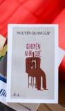 Book of Nguyen Quang Lap Stock Photo