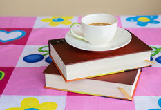 Book note and coffee Royalty Free Stock Photos