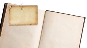 Book Note retro Stock Photos
