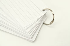 Book of notepad with ring. On white backgound Royalty Free Stock Image