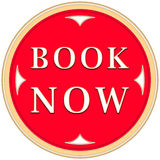 Book now button Stock Image