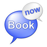 Book Now Message Means At The Moment And Booked Stock Photos
