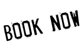 Book Now rubber stamp Stock Images