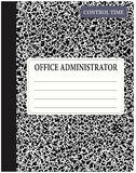 Book office administrator Royalty Free Stock Photos
