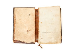Book old obsolete 1817 Royalty Free Stock Photos