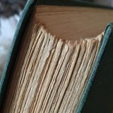 Book. Old book with yellow pages Stock Image