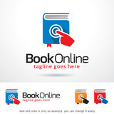 Book Online Logo Template Design Vector