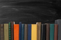 Book. Open club green covers school literature Royalty Free Stock Photos