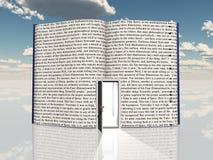 Book with open door Stock Photos