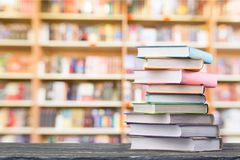 Book. Open old pile antique back to school background royalty free stock image