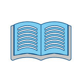 Book open symbol vector illustration Royalty Free Stock Photography
