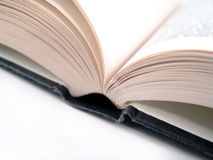 Book pages. Spine and edges of open book pages Royalty Free Stock Images