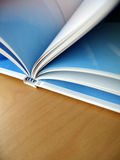 Book Pages. Turning the pages of a book royalty free stock photography
