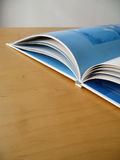 Book Pages. An open book royalty free stock photos