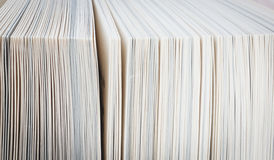 Book pages close up Royalty Free Stock Photos