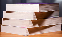 Book pages closeup Stock Photography