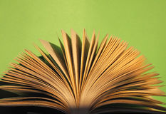 Book pages detail Royalty Free Stock Photography