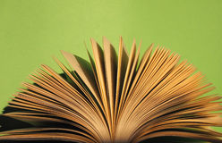 Book pages detail Royalty Free Stock Photo
