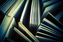 Book Pages Library Concept Stock Photos