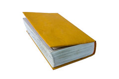 The book with paper cover. Royalty Free Stock Image