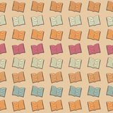 Book pattern Stock Photography