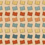 Book pattern Royalty Free Stock Image