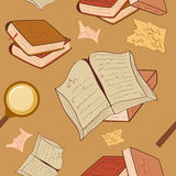 Book pattern Royalty Free Stock Images