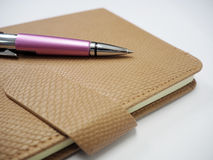 Book and pen illustrations for Business. OLYMPUS DIGITAL CAMERA , Notebook and pen illustrations Royalty Free Stock Image
