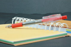 Book and pen Royalty Free Stock Photos