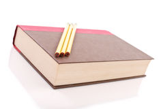 Book And Pencils Royalty Free Stock Photography