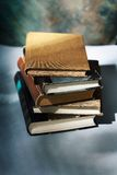 Book pile. Pile of old books Stock Image