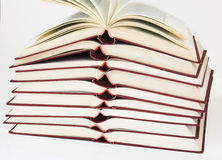 Book pile Royalty Free Stock Image