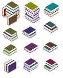 Book Piles royalty free illustration