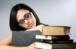 A book for pillow. Stock Images