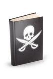 Book of pirated - clipping path Royalty Free Stock Image