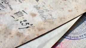 Book-plates fotografie stock libere da diritti