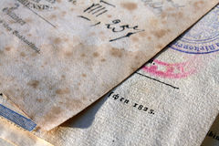 Book-plates immagine stock libera da diritti