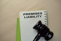The Book of Premises Liability on office desk