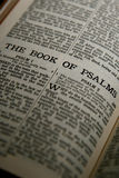 The Book of Psalms Royalty Free Stock Photography