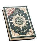 Book of Quran. Holy Book of Quran Isolated royalty free stock photography